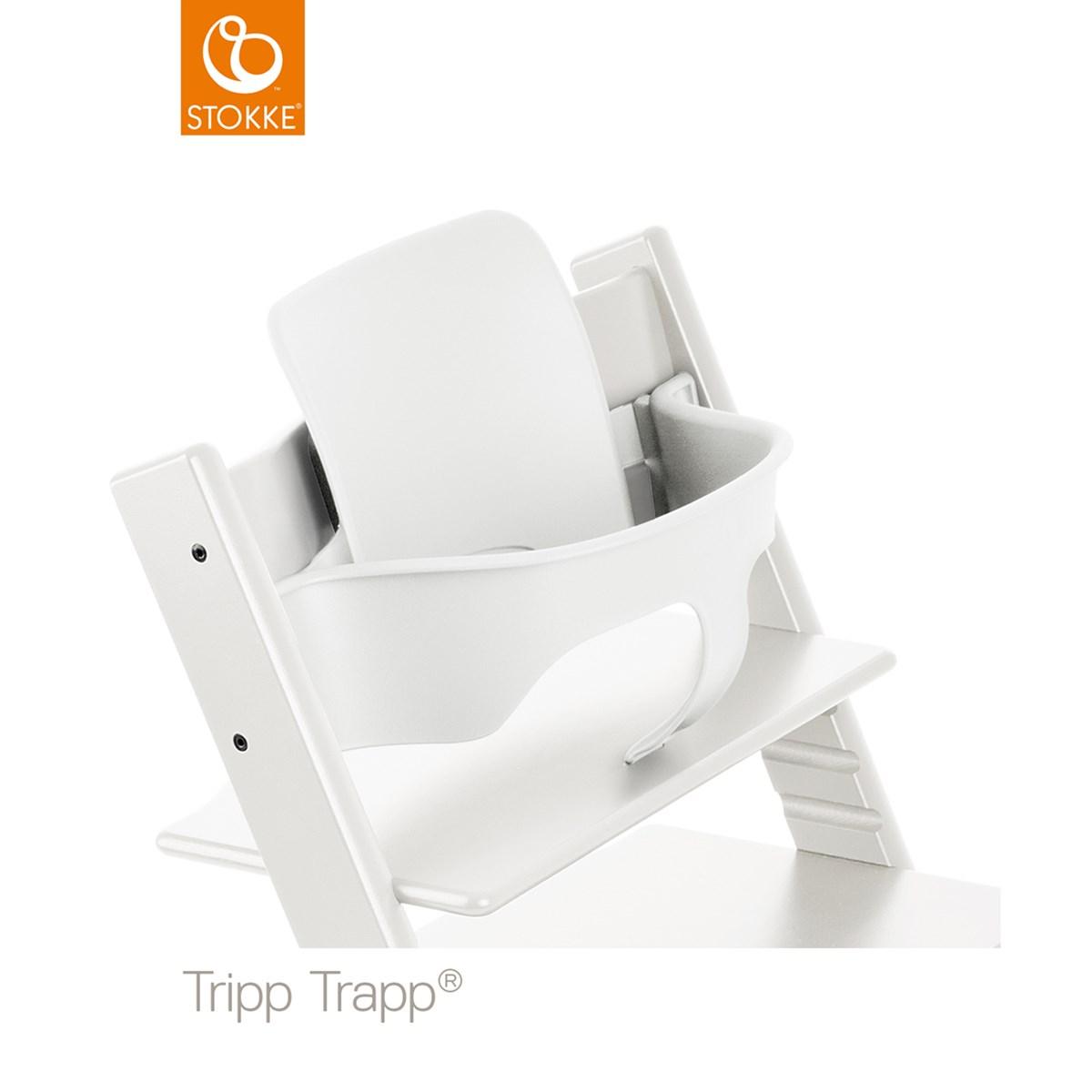 baby set tripp trapp blanc