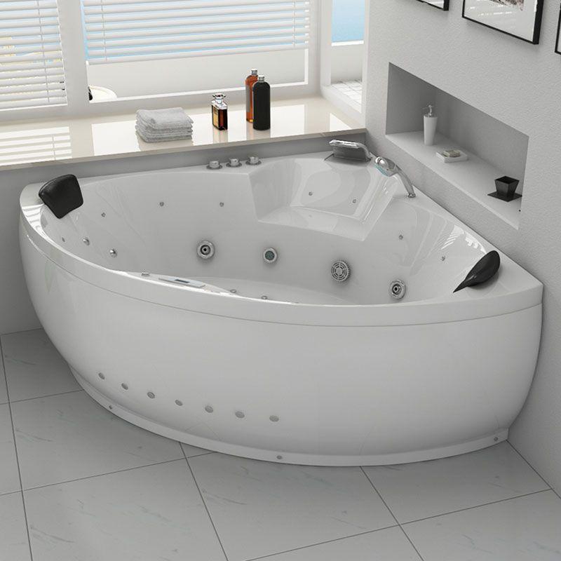 baignoire balneo angle