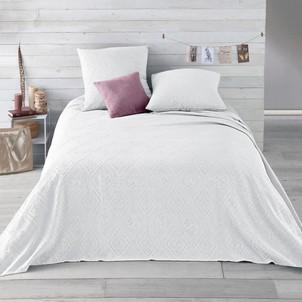 couvre lit blanc