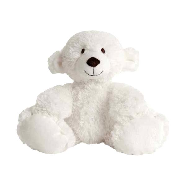doudou ours blanc