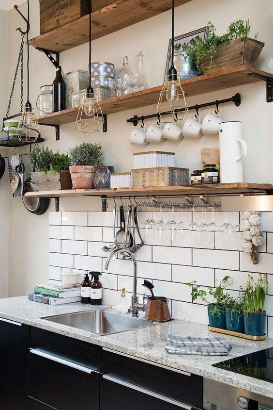 etagere de cuisine