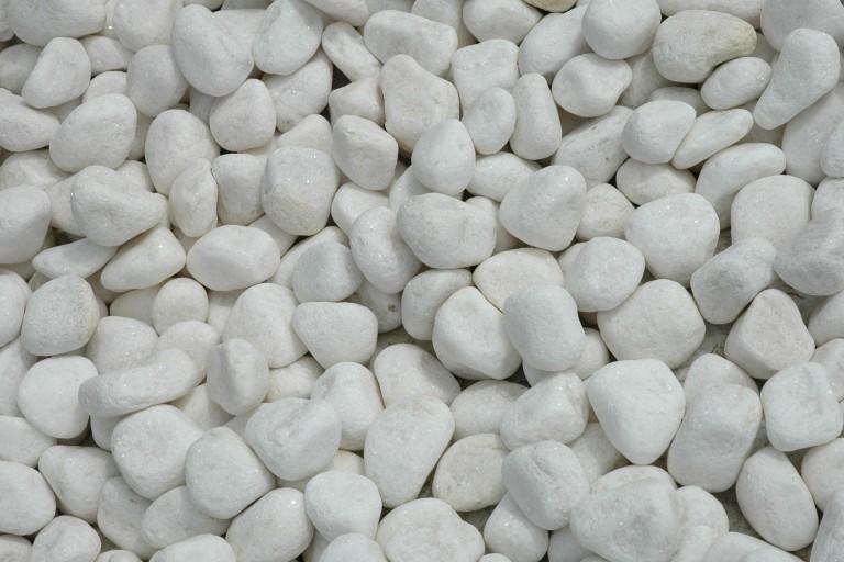 galet blanc