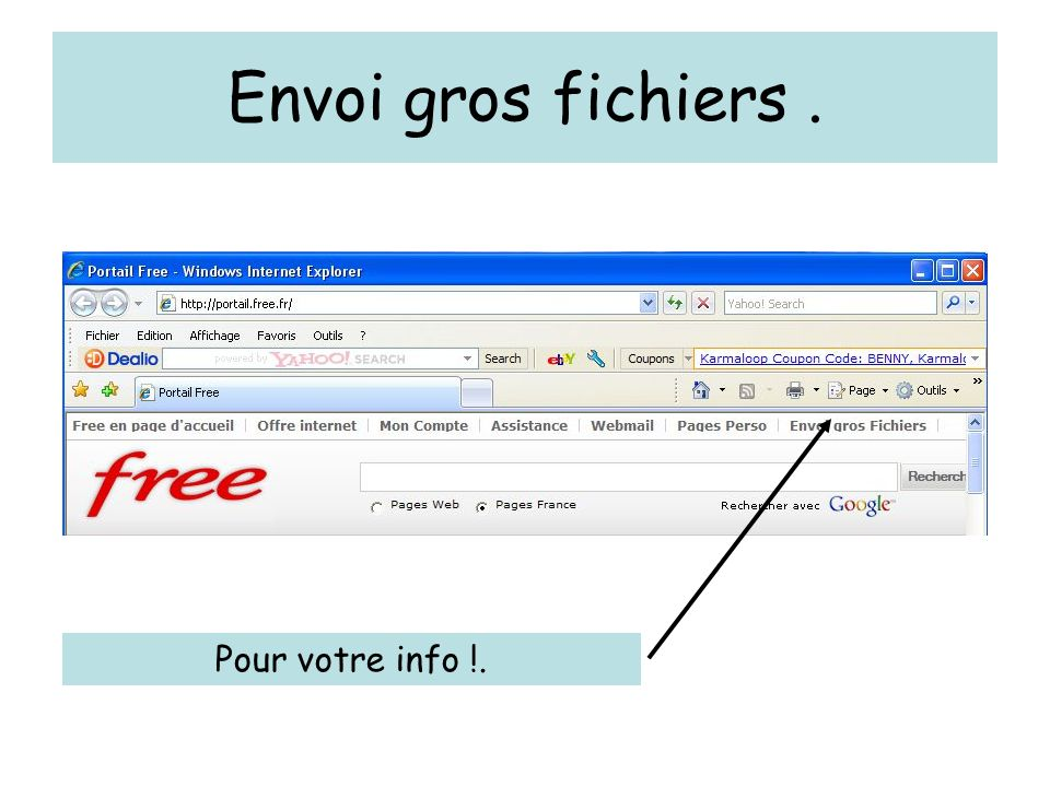 gros fichier free