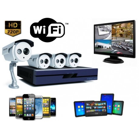 kit video surveillance exterieur