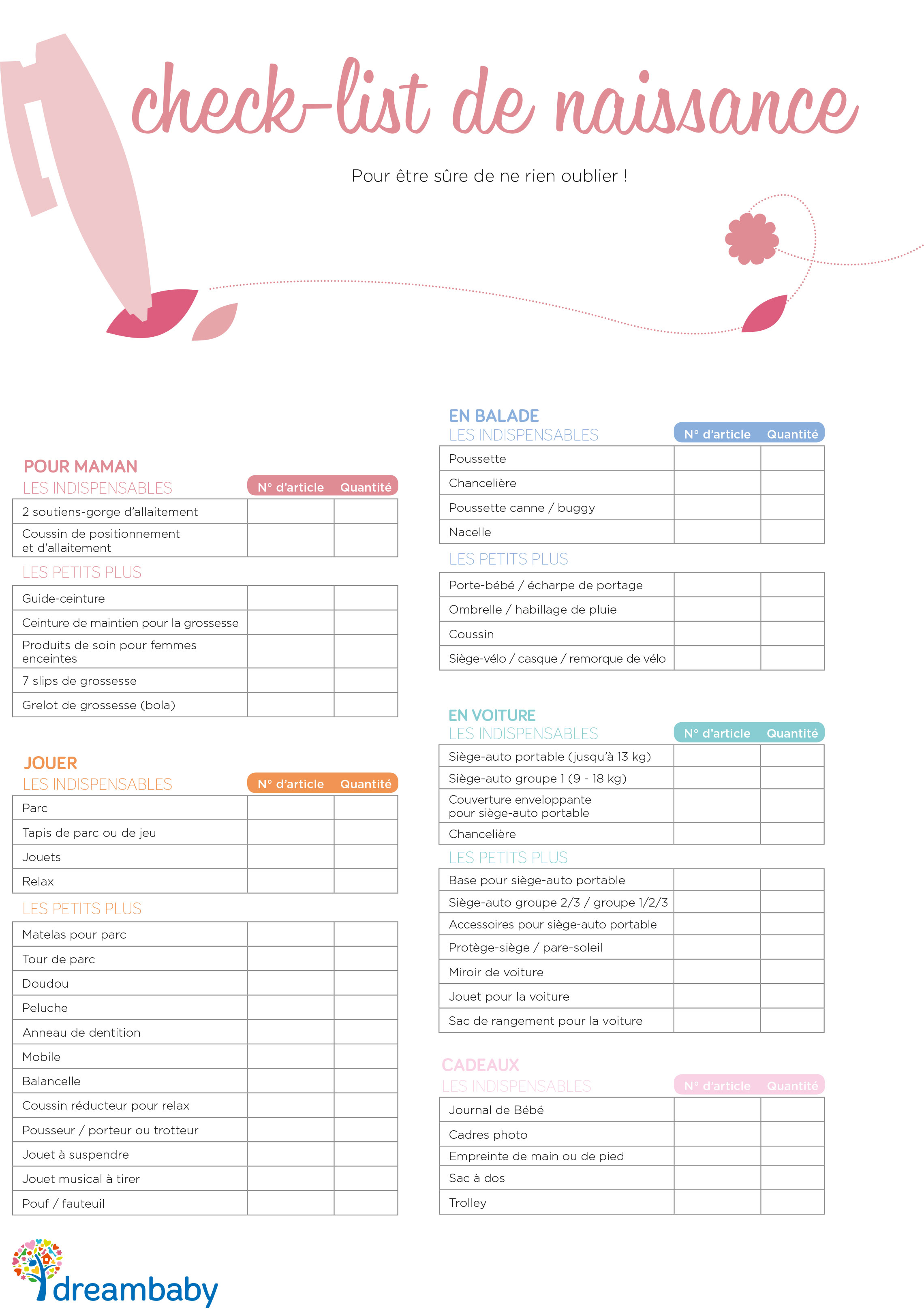 liste naissance exemple