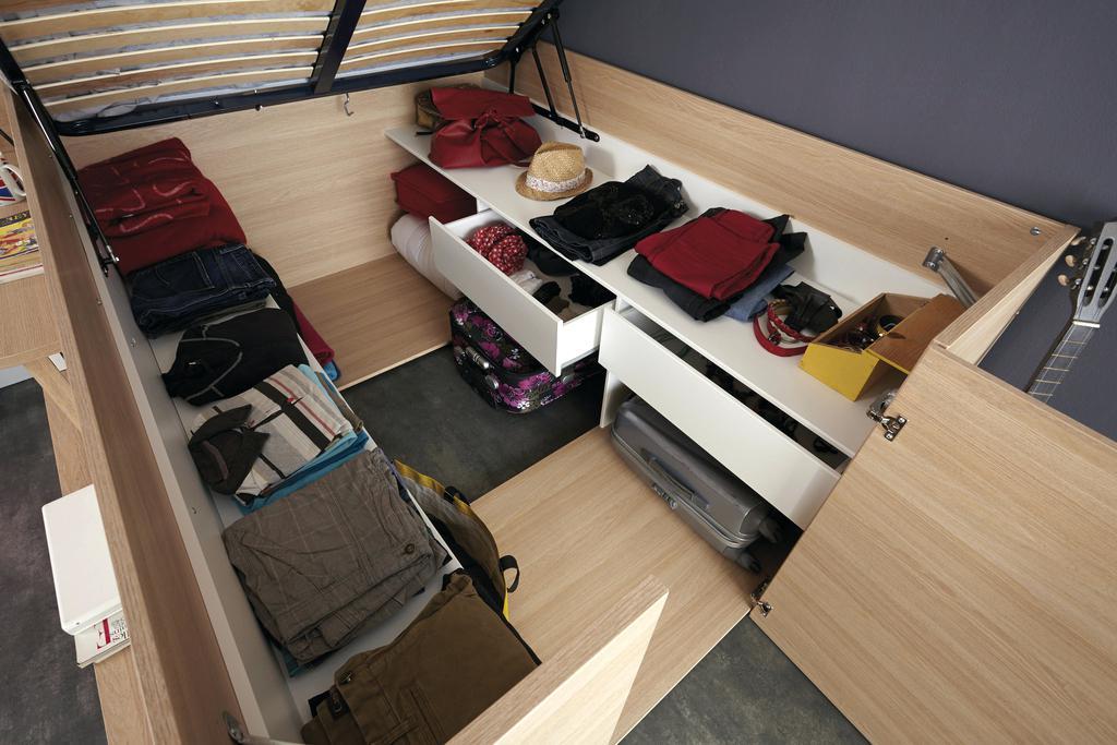 lit studio loft