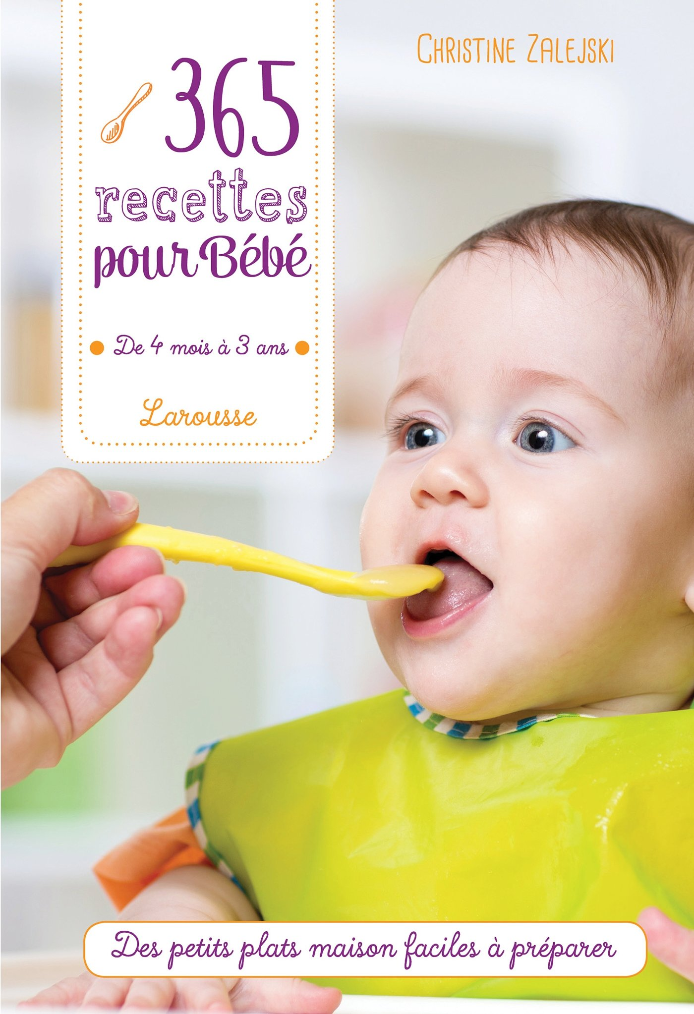 livre recette bébé
