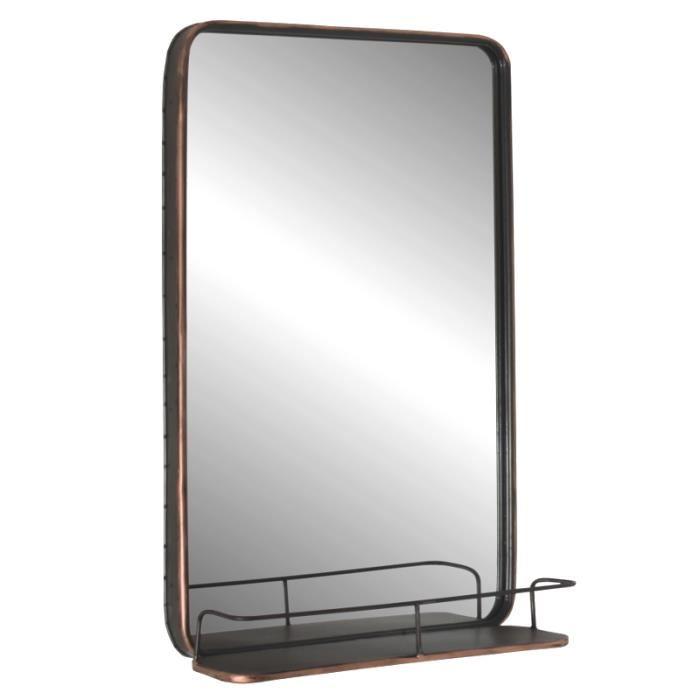 miroir etagere