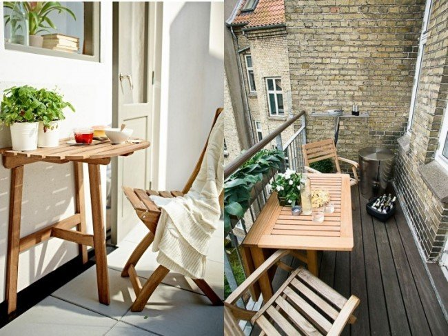 mobilier balcon