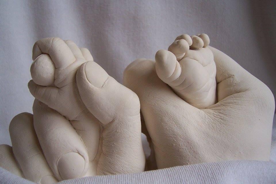 moulage main bébé