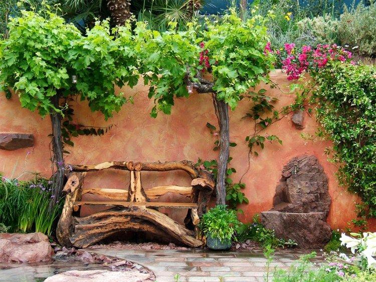 objet decoration jardin