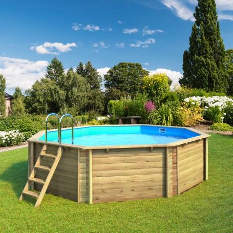 piscine hors sol bois