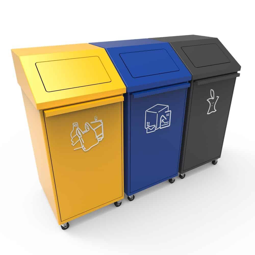 poubelle de tri