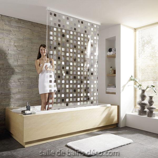 rideau pour baignoire