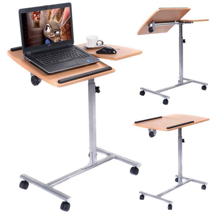table pour ordinateur portable