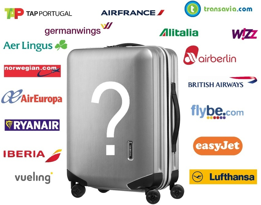 taille des valises