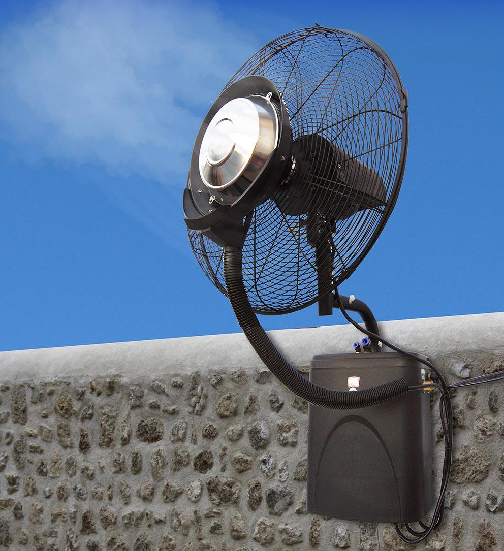 ventilateur brumisateur exterieur