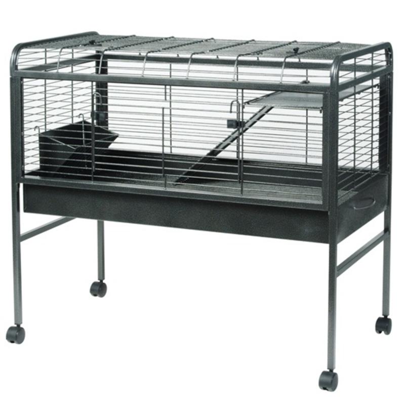 cage lapin sur pied