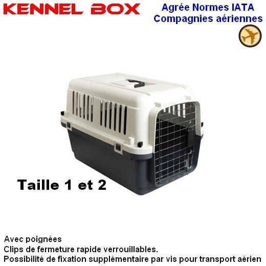 cage transport chat avion