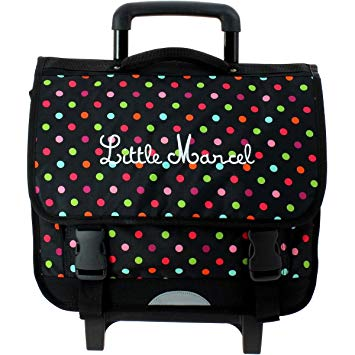 cartable little marcel à roulettes