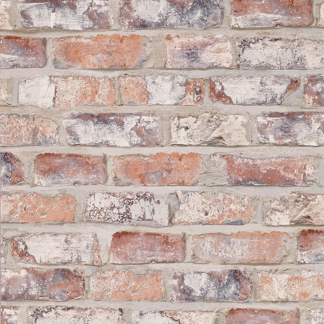 papier peint brique