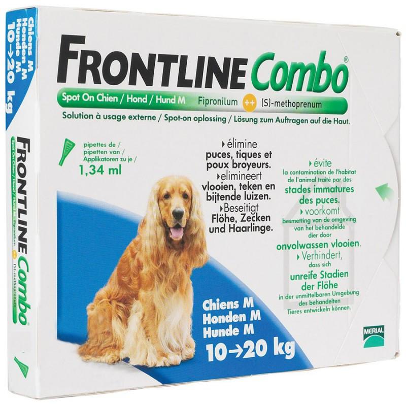 pipette chien frontline