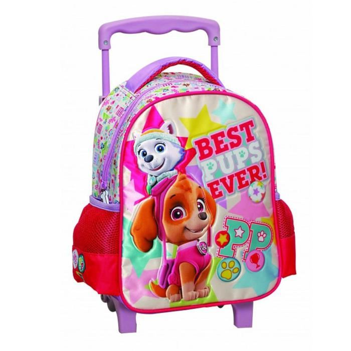 sac a roulette fille maternelle