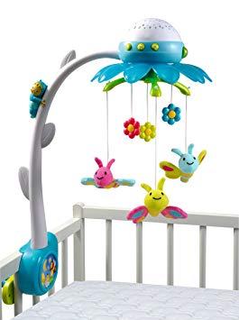 mobile bébé lumineux et musical