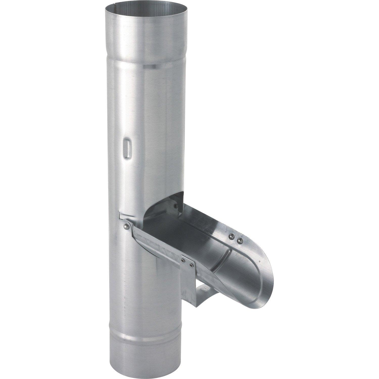 collecteur d eau de pluie pour gouttières zinc
