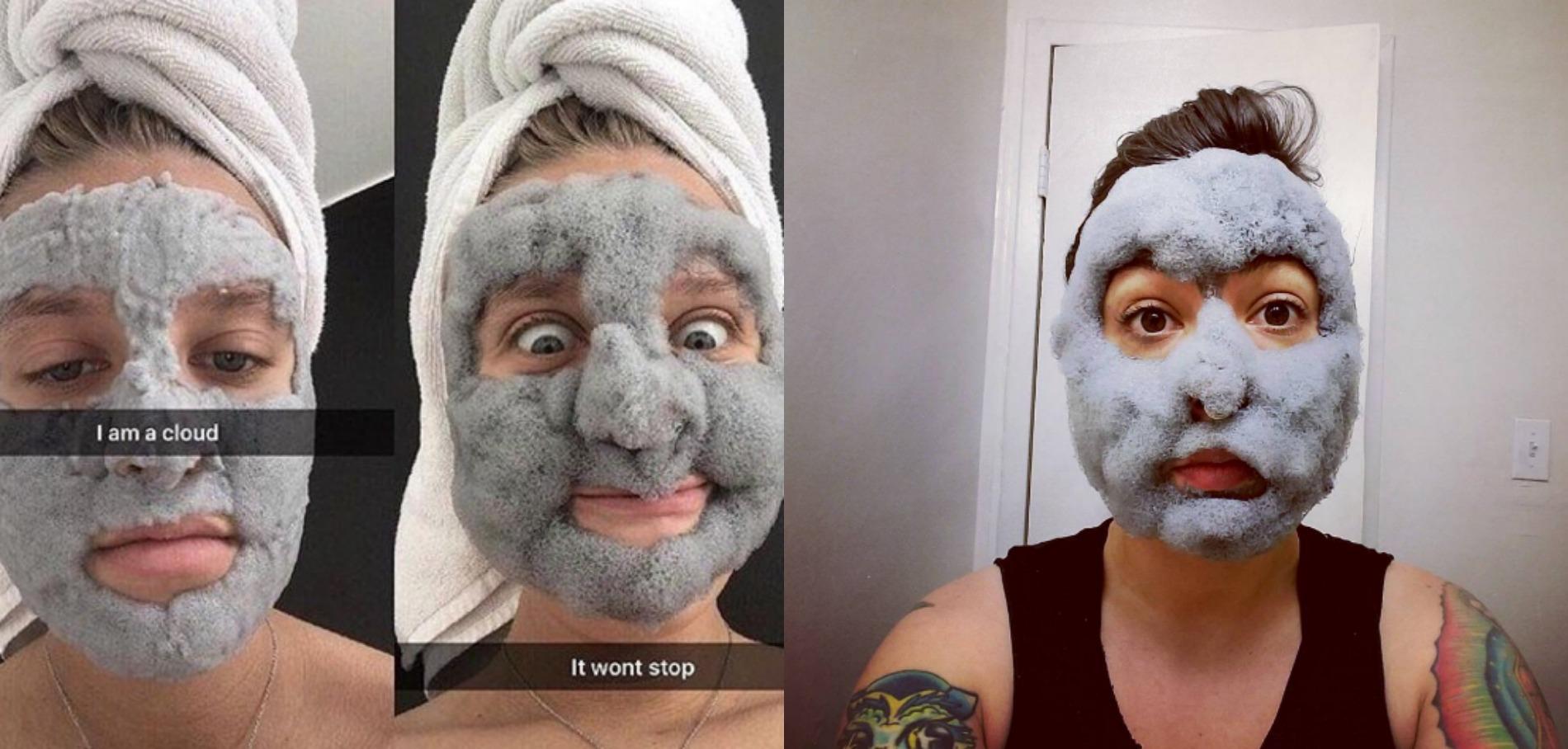 masque mousse