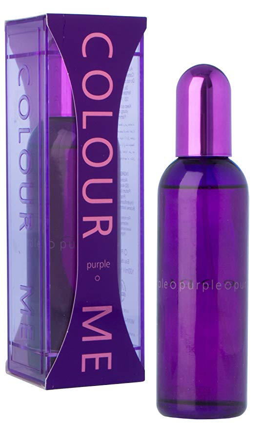 parfum flacon violet