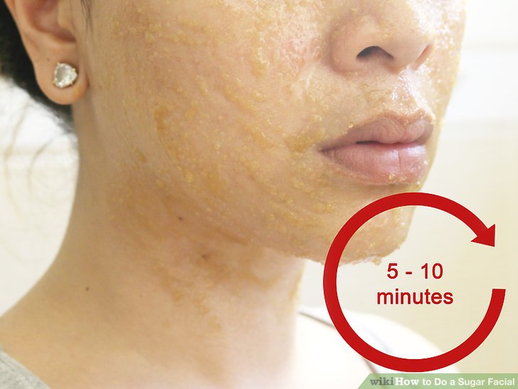 sugar face mask